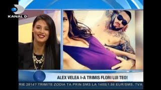 Antonia vorbeste despre Alex Velea, sarcina, Maya si KidSing la Teo Show cu Teo Trandafir