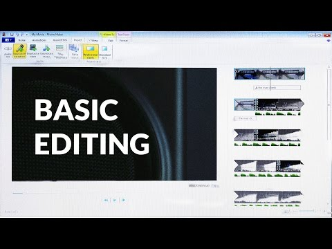 How to Edit Videos (for Beginners) (видео)