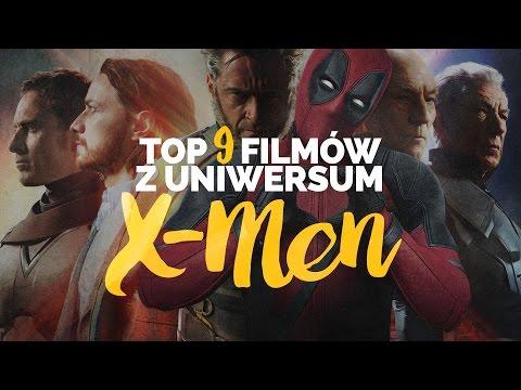 Top 9 filmów z uniwersum X-Men