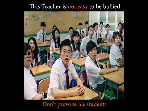 This Teacher is not easy to be bullied