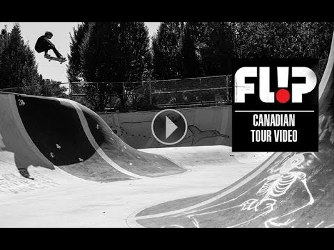 flip - Aiming the spotlight in the direction of Louie Lopez, Curren Caples, Matt Berger, and Alec Majerus, Flip recently toured around Canada to do a few demos and ...