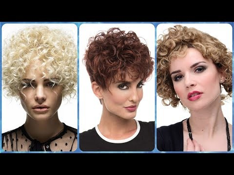 Short haircuts - 20 popular ideas for short hairstyles for women with curly hair
