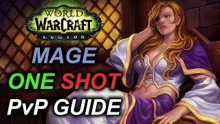 Mage PvP Guide for 7.2.5 covering macros, talents, rotation! Legion 110 Arcane! Please Like/Subscribe to show your support!