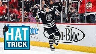 Alex DeBrincat sends in the hats by NHL
