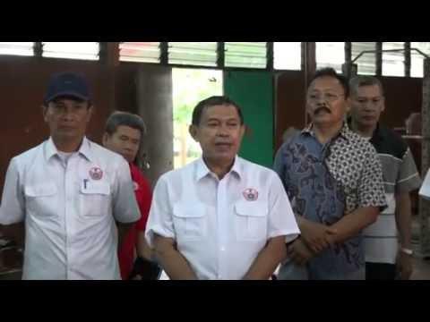 Kunjungan Ketua Kontingen Pelatda DKI PON XIX Ragunan