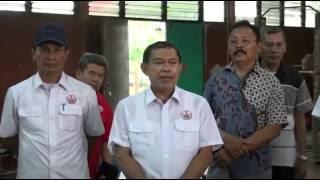 KONI DKI - Kunjungan Ketua Kontingen Pelatda DKI PON XIX Ragunan
