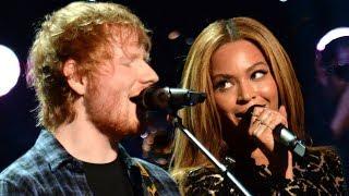 Video Beyonce Helps Ed Sheeran Recover From 2017 Grammy Snub MP3, 3GP, MP4, WEBM, AVI, FLV Maret 2018