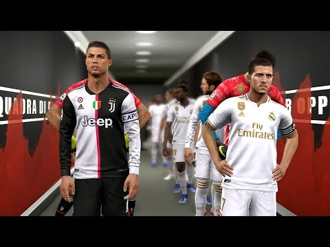 Real Madrid vs Juventus ft Hazard , Jovic , Mendy | PES 2019
