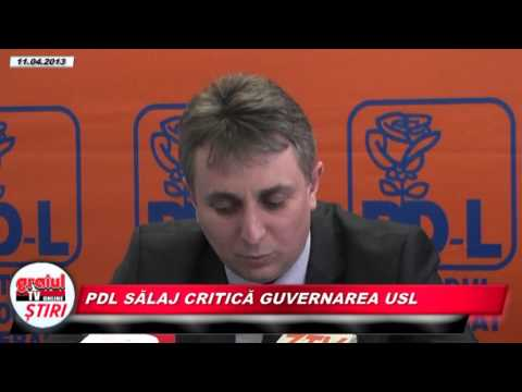 PDL Salaj critica guvernarea USL