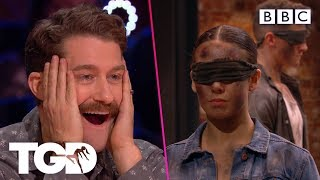 Vale perform their entire audition BLINDFOLDED! | The Greatest Dancer | Auditions Week 2