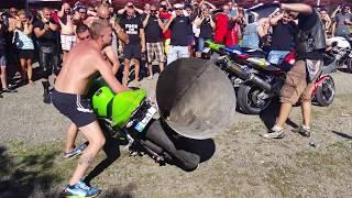 Damn! Biggest Motorcycle Exhaust Ever!