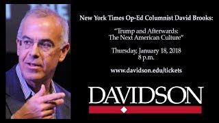 "Video Full Recording -- David Brooks: ""Trump and Afterwards: The Next American Culture."" MP3, 3GP, MP4, WEBM, AVI, FLV Oktober 2018"