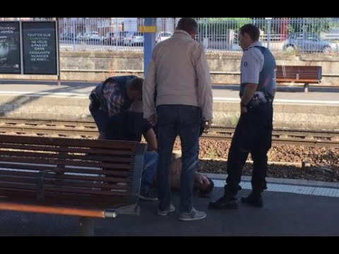 Video: Real American Heroes: 3 Men Prevented Catastrophe on French Train (Trifecta)