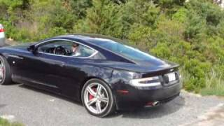 2010 Aston Martin DB9 Start And LOUD Rev