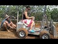 Off Grid Pirate Builds a Solar BULLDOZER, and its Awesome!!!!