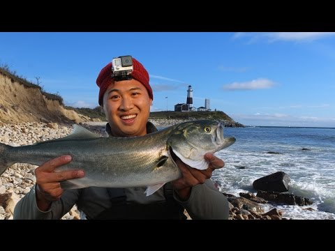 One of America's Best Surf Fishing Spots: Montauk, NY