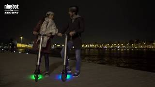 Ninebot by Segway KickScooter - Continue exploring wherever you go