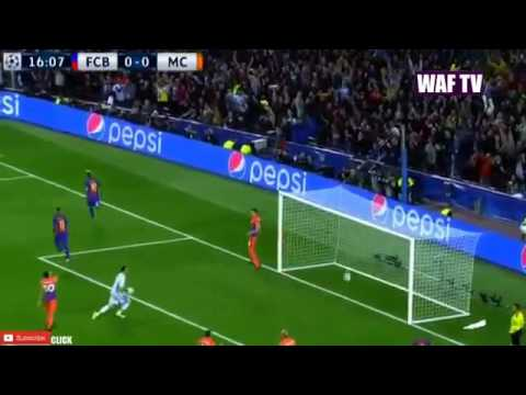 Lionel Messi Goal Barcelona vs Manchester City 1-0 Champions League 2016