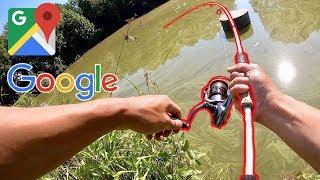 Video CRAZY GOOGLE MAPS FISHING CHALLENGE!!! (Surprise Catch) MP3, 3GP, MP4, WEBM, AVI, FLV Juli 2019