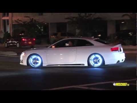 Quckie: H20i 2012 – Audi S5 with Glowing Rims