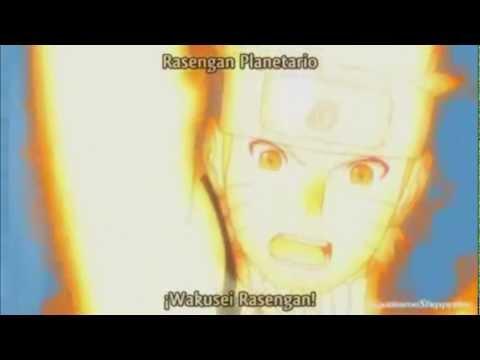 naruto - rasengan planetario