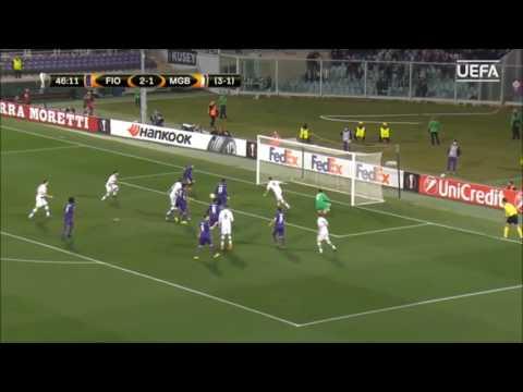 Fiorentina vs  Moenchengladbach 2-4 Europa League All Goals & Highlights 23/02/2017