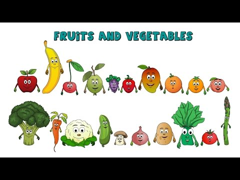 VEGETABLES - Fruits & Vegetables Use this video to teach children about the importance of fruits and vegetables; as well as their health benefits in a fun way. For more v...