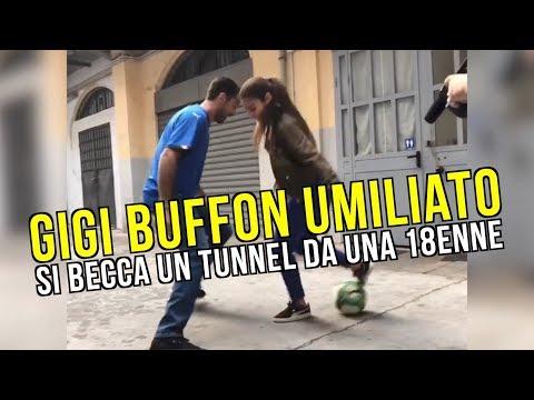 Come dribblare Gigi Buffon? Ci pensa Lisa, una 18enne freestyler francese
