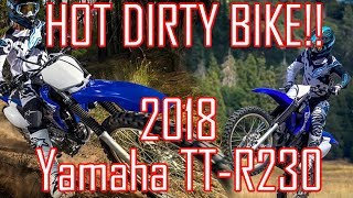 2. Hot dirty bike!!! 2018 Yamaha TT-R230 Top Features and Specs