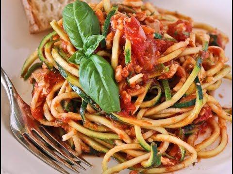 spagnetti di zucchine - ricetta