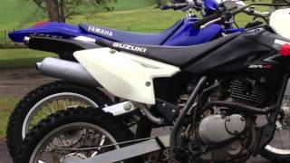 10. Suzuki DRZ125L 2008 Changing Oil, Shifter Seal, exhaust tip, seat letters, mig weld