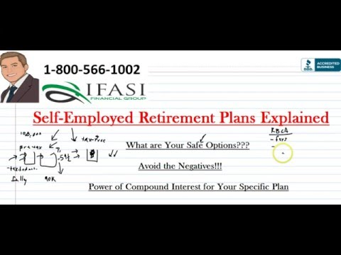 Self Employed Retirement Plans - Best Self Employed Retirement Plans