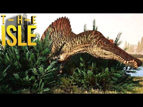 The Isle - Spinosaurus Caçando, Atacando Herbívoros!  Dinossauros (#123) (PT-BR)