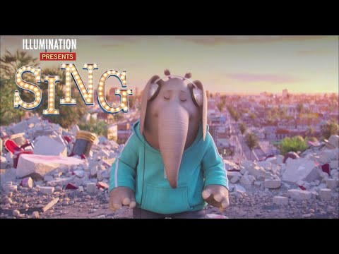 Sing | Buster Hears Meena Singing - Own It Now On Digital and Blu-ray | Illumination