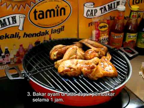 Resipi D`Wing Chicken BBQ-TAMIN