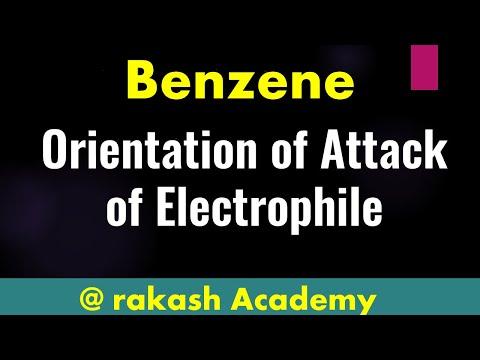 Organische Chemie - Elektrophile aromatische Substitution - Orentation der Angriff des Elektrophils