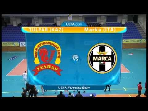 Обзор матча Кубка УЕФА по футзалу между 'Тулпаром' и 'Маркой' (2:2)