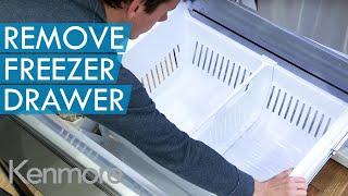 Download Lagu How to Remove Freezer Drawer | Kenmore Grab-N-Go Refrigerator Mp3