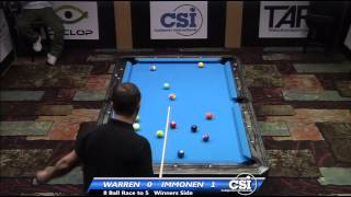 2014 CSI USBTC 8 Ball: Mika Immonen Vs Warren Kiamco