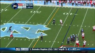 Mike Glennon vs North Carolina (2012)