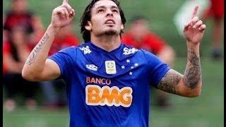 10ª Rodada - Cruzeiro goleia o Flamengo, mantem liderança e afunda rival. Gols de Ricardo Goulart, Everton Ribeiro e Borges. FICHA TÉCNICA CRUZEIRO 3 ...