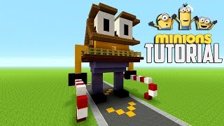 Minecraft Tutorial: How To Make A Minion House Tutorial | Survival House ( XMAS )
