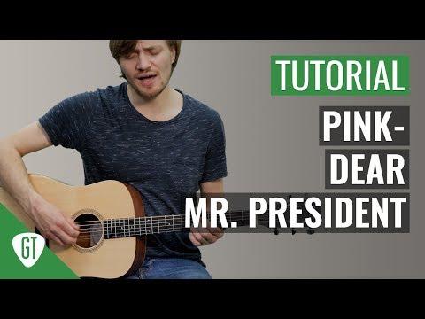 P!nk - Dear Mr. President | Gitarren Tutorial Deutsch