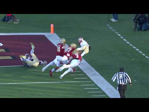 Seminole Moment: James Blackman's 60-Yard TD Pass to D.J. Matthews vs. Boston College (2019)