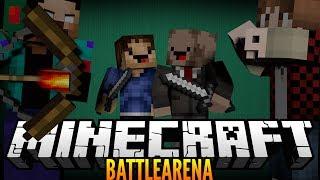 """EPIC BOW SHOT!"" Minecraft BATTLE ARENA EXPRESS! w/BajanCanadian, Woofless&Nooch!"