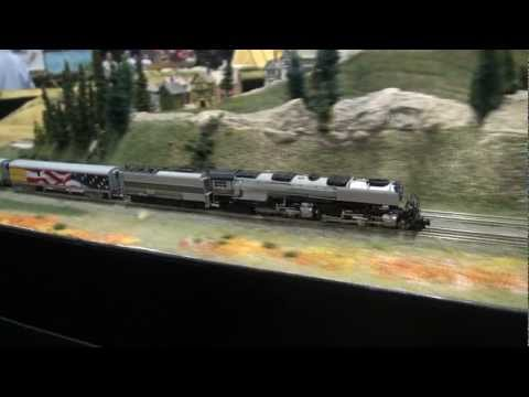 zscale - Take an air ride and enjoy this complete main line run taking 16 minutes for one round for this high speed passenger train headed by the sound equipped AZL C...