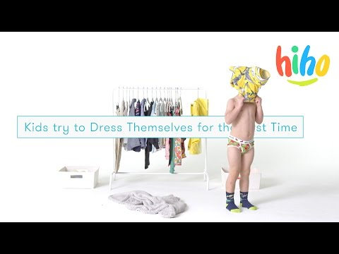 Kids Try to Dress Themselves for the First Time