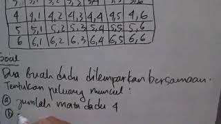 Video Peluang Suatu Kejadian - Dua Buah Dadu Dilambungkan Bersama MP3, 3GP, MP4, WEBM, AVI, FLV November 2017