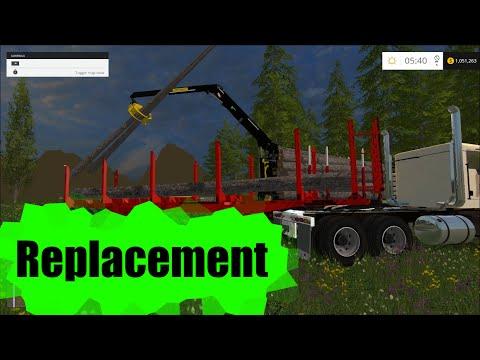 American logger trailer v1.0