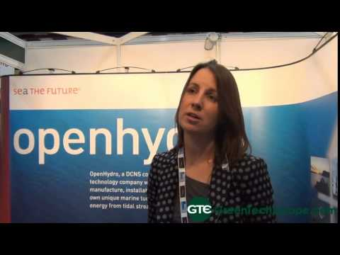 Open Hydro Interview: Open centre tidal turbine